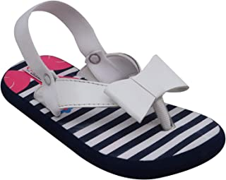 D'chica Girl's Flamingos for Toddlers Flip-Flops