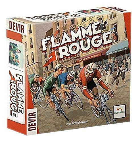 Lautapelit 51 - Flamme Rouge