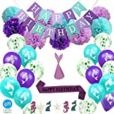 MermaidParty Suppliesand PartyDecorations forGirlsBirthday party