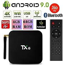 Tanix TX6 Allwinner H6 Android 9 0 Mini PC 2 4GHz+5GHz 4K 1080P Bluetooth  Smart TV Box TX3 Mini X96 Mini MXQ Pro