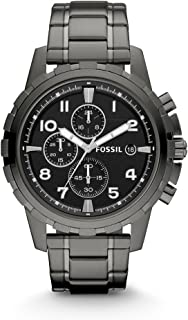 Fossil Mens Quartz Watch, Chronograph Display and Stainless Steel Strap FS4721