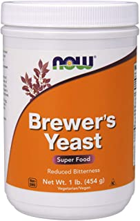 NOW Brewer's Yeast, 1-Pound (Pack of 2)