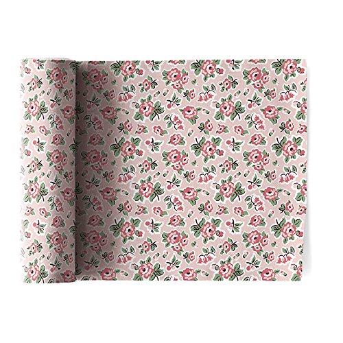 Serviette de table en coton 20x20cm - Idéale pour fête, anniversaire, cocktail - Rouleau de 12 serviettes - motifs/imprimés liberty