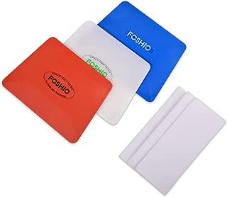 FOSHIO Vinyl Installing Tool Set Include White Hard Card, 4
