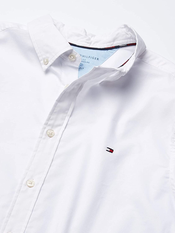 Tommy Hilfiger Big & Tall Men's Big and Tall Button Down Long Sleeve Shirt