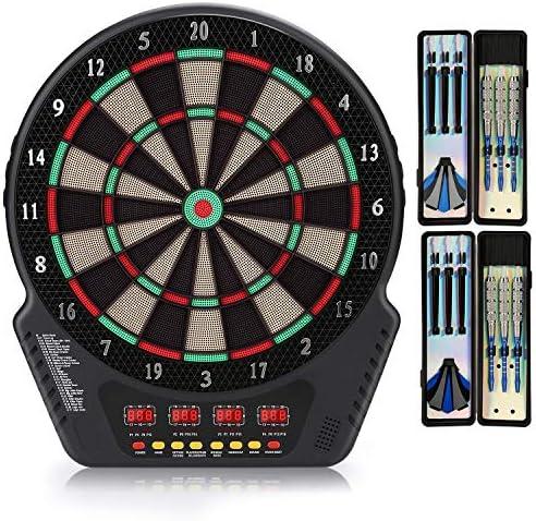Biange Electronic Dart Board Digital Soft Tip Dart Boards Dartboard Set 13 5 Target Area 27 product image