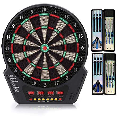 Biange Electronic Dart Board, Digital Soft Tip...