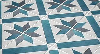 comprar comparacion MoonStickers Adhesivos de Azulejos - Paquete de 10 Baldosas - 10 Baldosas Individuales - Baldosas Adhesivas (10 x 10 cm, F...