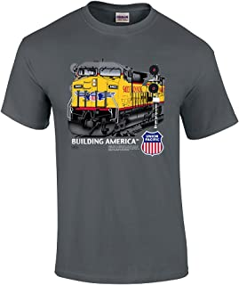 Daylight Sales Union Pacific Building America C44-9W Authentic Railroad T-Shirt