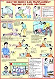 Electric Shock & It's Treatment Chart (50 x 70 cm)