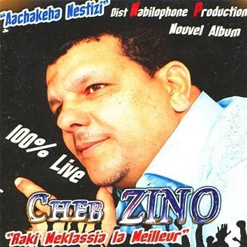 """Cheb Zino, """"Raki Meklassia la Meilleur"""" 100% Live"""