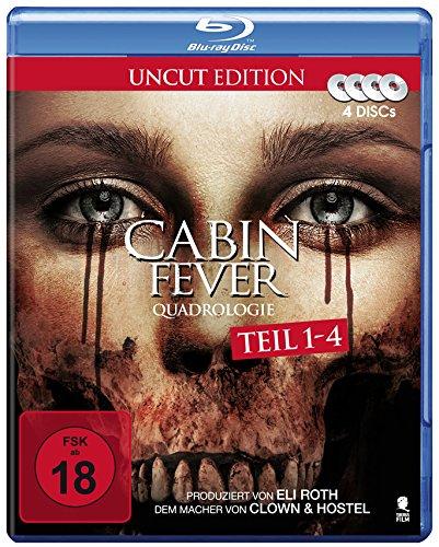 Cabin Fever Quadrologie (4 Disc-Set) [Blu-ray]