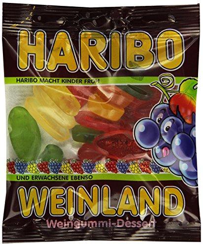 Haribo Weinland Weingummi,30er Pack (30x 100 g Beutel)