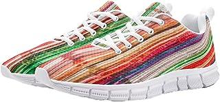 Schmitz Unisex Athletic Sneakers Men Women Mesh Lace Up Lightweight EVA Shoes