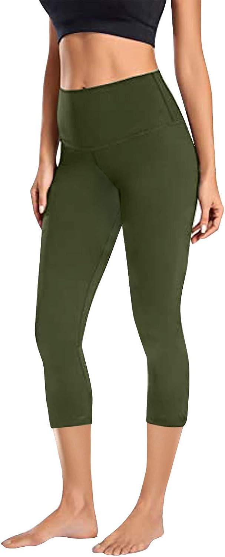 FUNEY High Waist Yoga Pants for Women,Tummy Control Shapewear Workout Running Yoga Leggings for Women Yoga Leggings