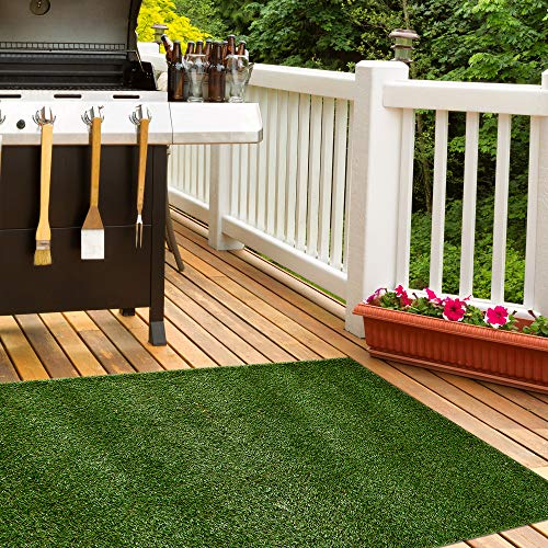 iCustomRug Thick Turf Rugs and Runners 5' X 7' Pet Friendly...