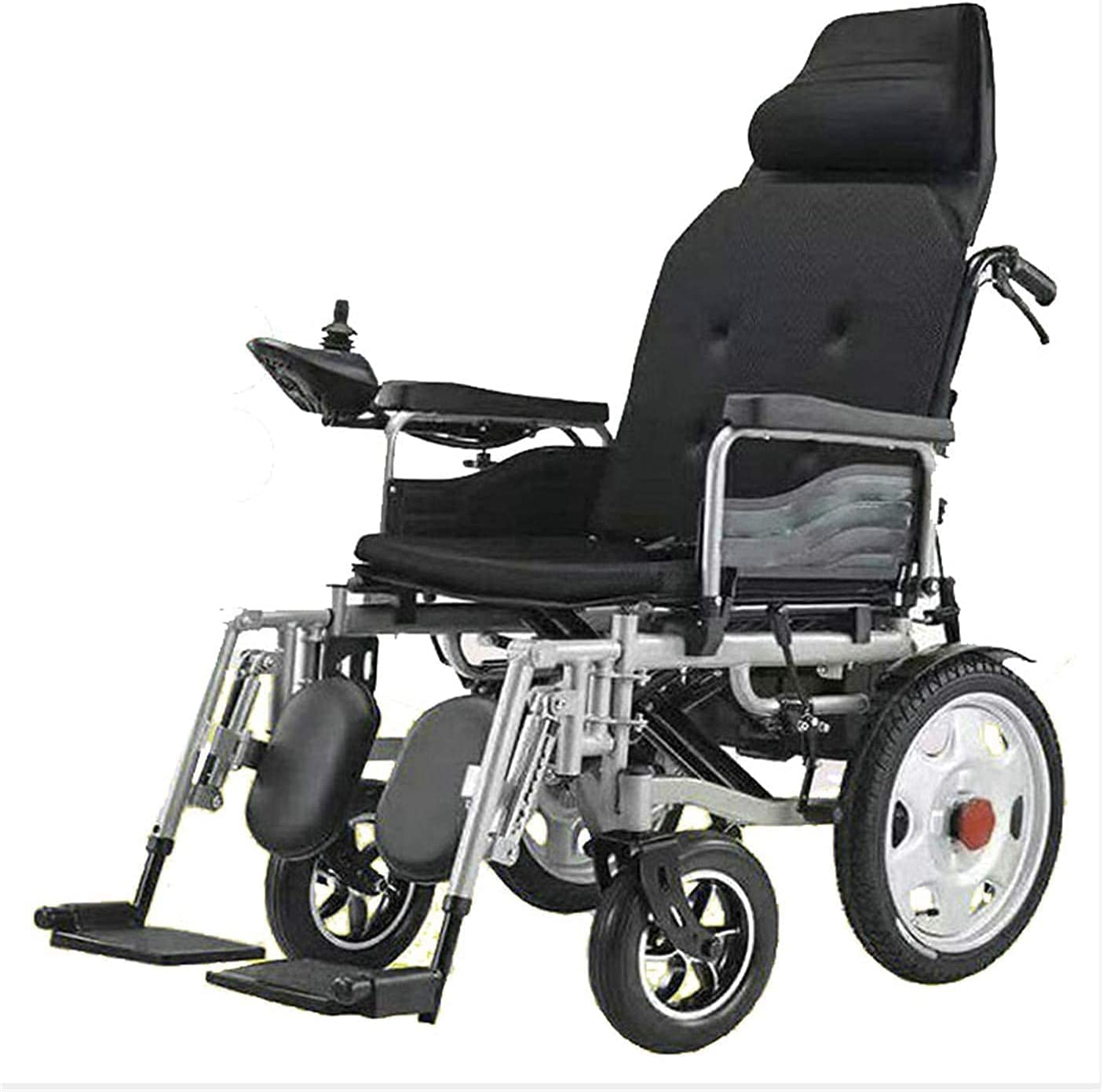 Electric Max 79% OFF Wheelchair with Headrest Limited time sale Lightweight Foldable Intellige
