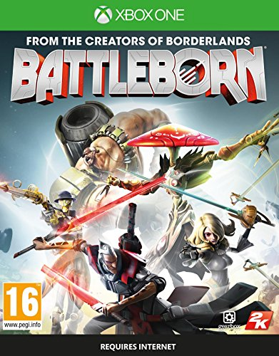 2K Battleborn (Includes FIRSTBORN Pack & Characters Cards) XBOX1 [ ]