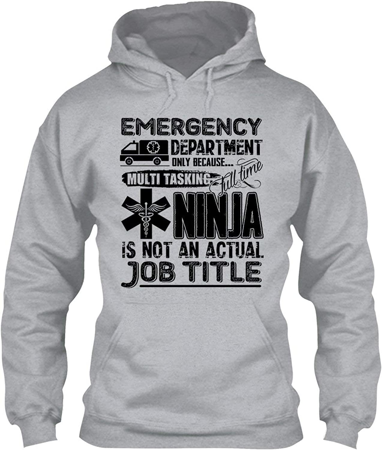 EZARO Emergency Department Job Title Cool Hoodies, Hooded Sweatshirt, Gift