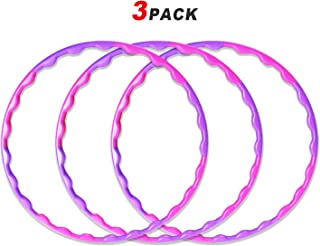 Tongs Hoola Hoops Bulk for Kids, 32 Inch Adjustable Weight and Size Hula Ring Set for Sports Party Playing