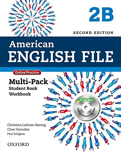 American English File: Am English File 2B Multipk W Online Pract And Ichecker 2Ed: With Online Practice and iChecker