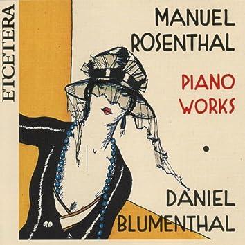 Manuel Rosenthal, Piano Works