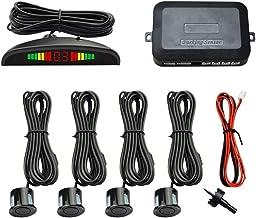 $35 » SATMW Car Reverse Parking Radar System with 4 Parking Sensors 0.3-2.5m Distance Detection Waterproof Backup Car Parking Se...