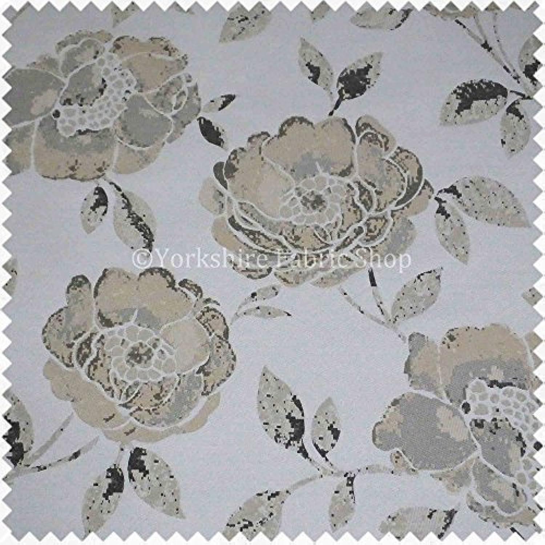 Yorkshire Fabric Shop 4 Meter von Elegante Muster, natur weiß Farben Bezugsstoffen Code 581 B01M6DX8J0 | eine breite Palette von Produkten