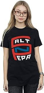 Salt N Pepa Women/'s Big Logo Boyfriend Fit T-Shirt