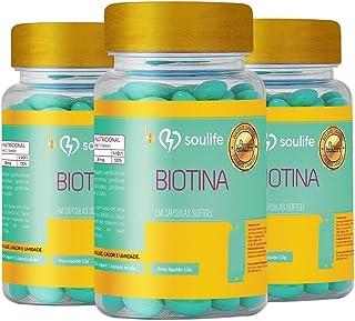 Biotina - 60 Caps - Soulife - Combo 3 unidades