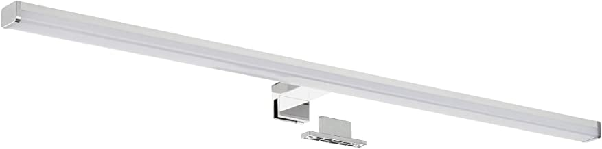 SEBSON® LED Spiegellamp 80cm, Badkamer Verlichting IP44, Spiegelkast Lamp Neutraal Wit 4000K 15W, 1300lm, Spiegelverlichti...
