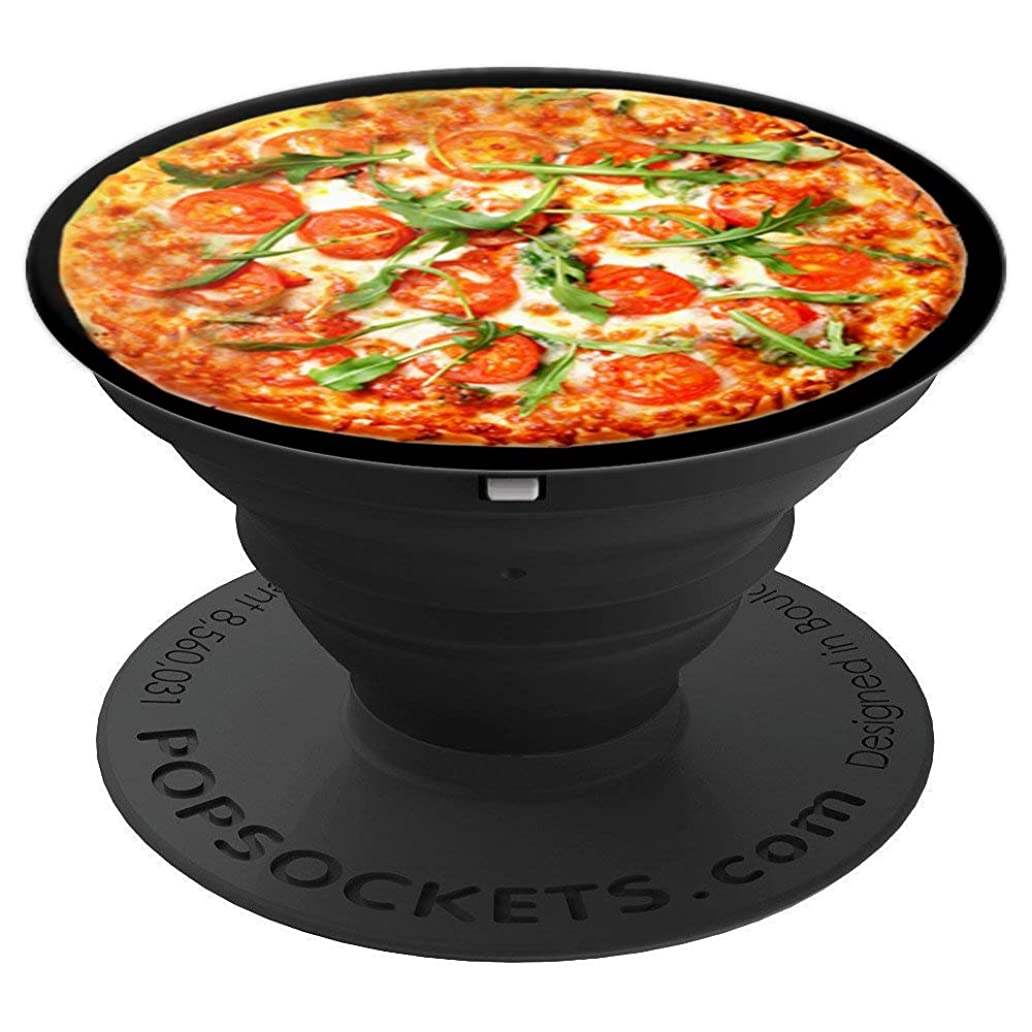 Funny Pizza Gift Cute Lovers Men Guys Teen Boys Kids - PopSockets Grip and Stand for Phones and Tablets pjy4478883
