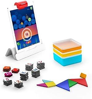 Osmo(オズモ) ジーニアス スターターキット for iPad (日本語サポート・正規版)| 6~10才対象| iPadを使って学ぶ 知育玩具 ( 理科 お絵描き 英単語 算数 パズル )