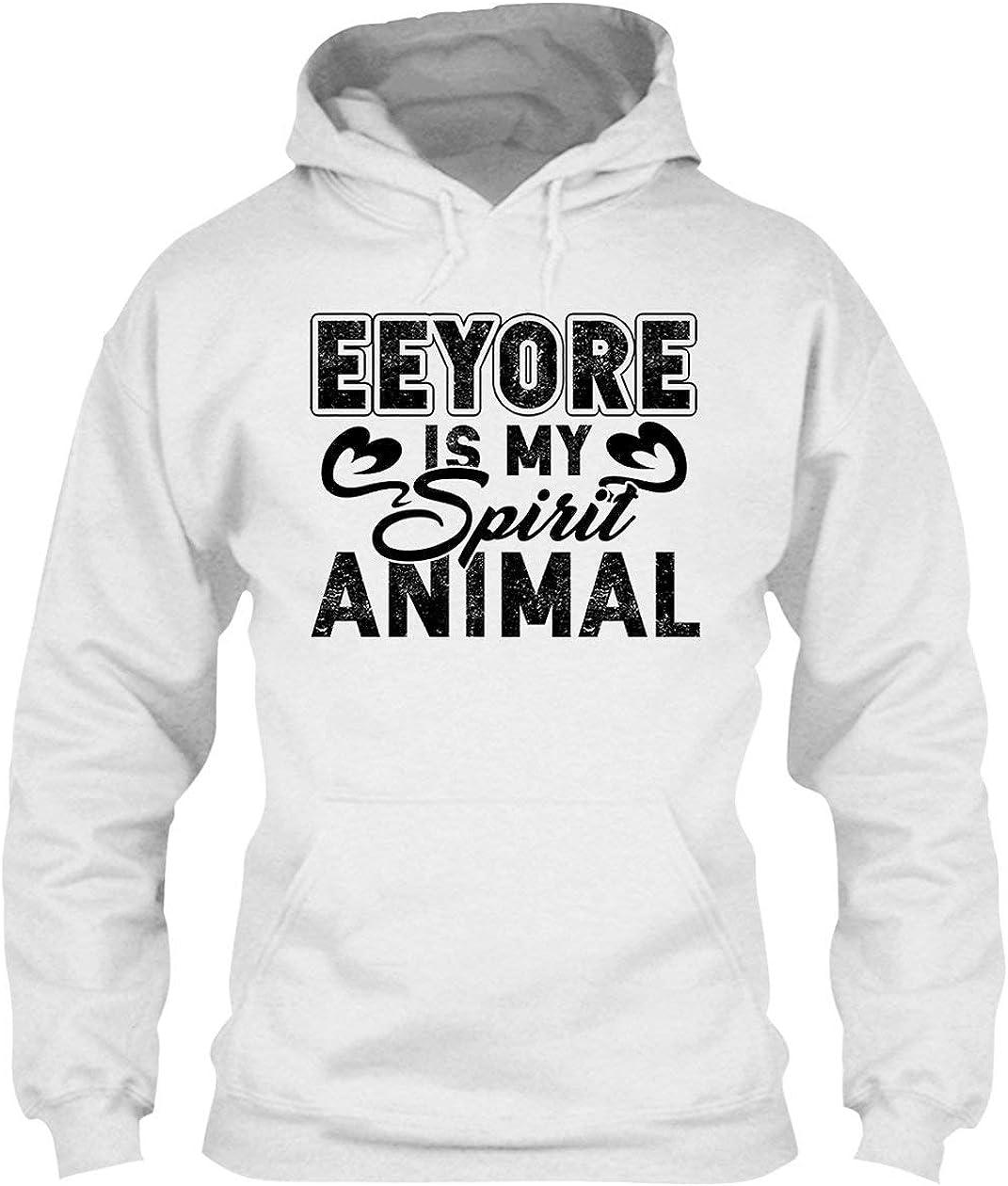Eeyore is My Spirit Animal Hoodie Pullover 即納送料無料 Hoodies 新色追加して再販 Men for Wom