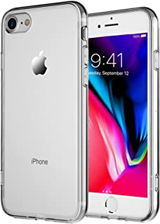 tekSonic TekSonic iPhone 7, iPhone 8 Case, Crystal Clear Case [Shock Absorption] Cover Soft TPU Rubber Gel [Anti Scratch] ...