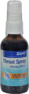 Organic HerbalMist Throat Spray Zand 2 oz Liquid