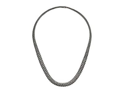 John Hardy Classic Chain Graduated Necklace (Silver) Necklace