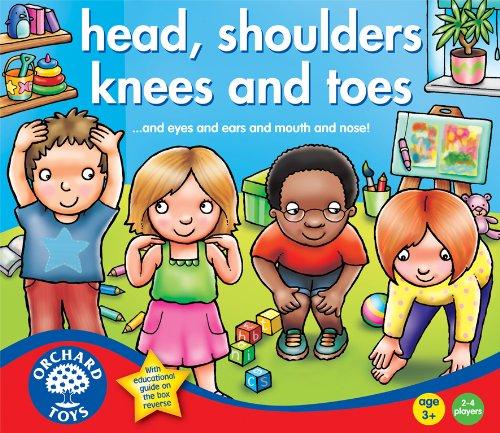 Orchard Toys - Le parti del corpo (Heads, shoulders, knees and toes), Gioco da tavolo educativo [Lingua inglese]