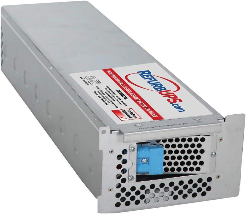 APC Smart-UPS XL 3000 Rack Mount (SUA3000RMXL3U) RBC105 Compatible Replacement Battery Cartridge Hot-Swap PowerSwap Solution