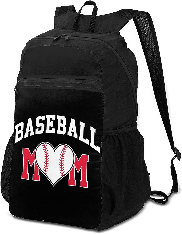 Topics on TV Baseball Mom Hiking Backpack for Lightweight Packable Women Men El Paso Mall