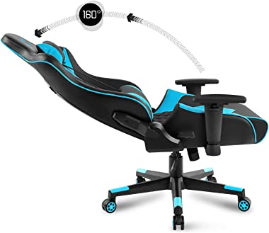Spirit Of Gamer – Crusader Series – Chaise Gaming Simili Cuir Capitonné Haut de Gamme – Coussin Nuque & Lombaires – Accou