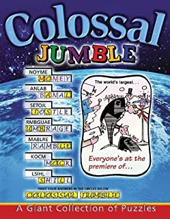 Colossal Jumble?: A Giant Collection of Puzzles (Jumbles?) by Tribune Media Services (2002-04-01)