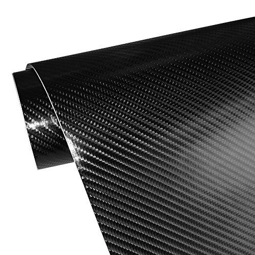 Suitable for Appearance and Interior of Motorcycles Cars Self Adhesive Waterproof Bubble Free 300 * 30cm Lypumso Film Vinyl Carbon Fiber Sticker 6D Computers