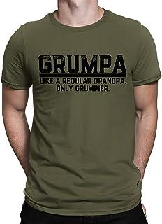 SpiritForged Apparel Grumpa Like A Regular Grandpa, Only Grumpier Men's T-Shirt