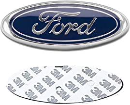 DIYcarhome Ford Front Grille Tailgate Emblem, Oval 6