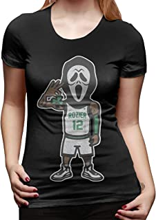 Women's Short-Sleeved T-Shirt Scary Terry Rozier Classic Cool Creation Black