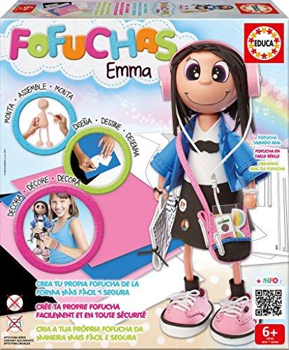 Educa Borrás- Fofucha Emma muñeca Estudiante (16375)