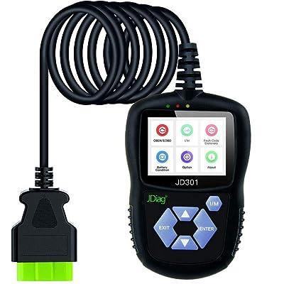 JDIAG JD301 OBD2 Scanner Car Diagnostic Scan To...