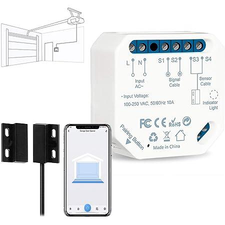WiFi 2.4GHz smart garage door controllers Smart Switch Garage Door Opener YK