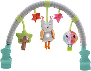 Taf Toys Musical Arch | Best for Infant and Toddlers' That Fits to Stroller & Pram, Activity Bar with Hanging Musical Owl Toy, Easier Outdoors and Easier Parenting, Keeps Your Baby Happy, Ideal Gift